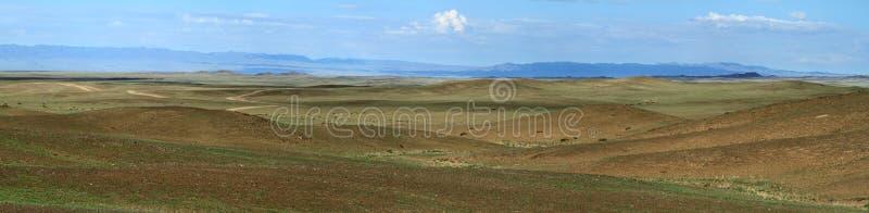 蒙古风景 图库摄影