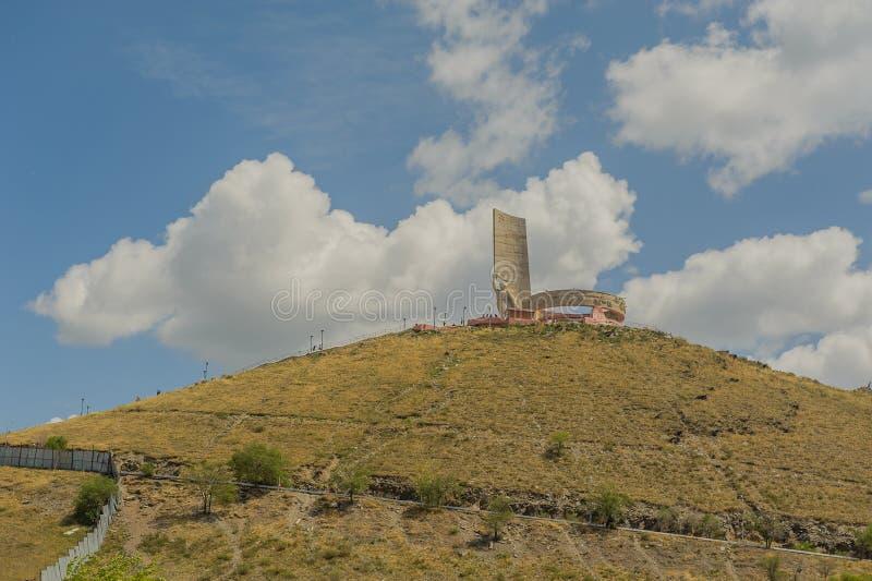 蒙古- Ulaanbaatar - Zaisan纪念品 库存照片
