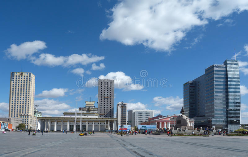 蒙古Ulaanbator 6 免版税库存照片