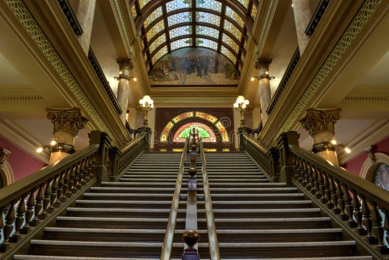 蒙大拿状态国会大厦 免版税库存照片