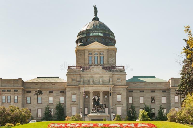 蒙大拿状态国会大厦 库存图片