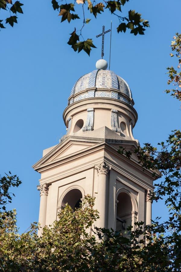 蒙得维的亚大教堂乌拉圭 免版税库存图片