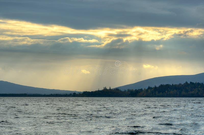 洛蒙德湖,苏格兰的储蓄图象 免版税图库摄影