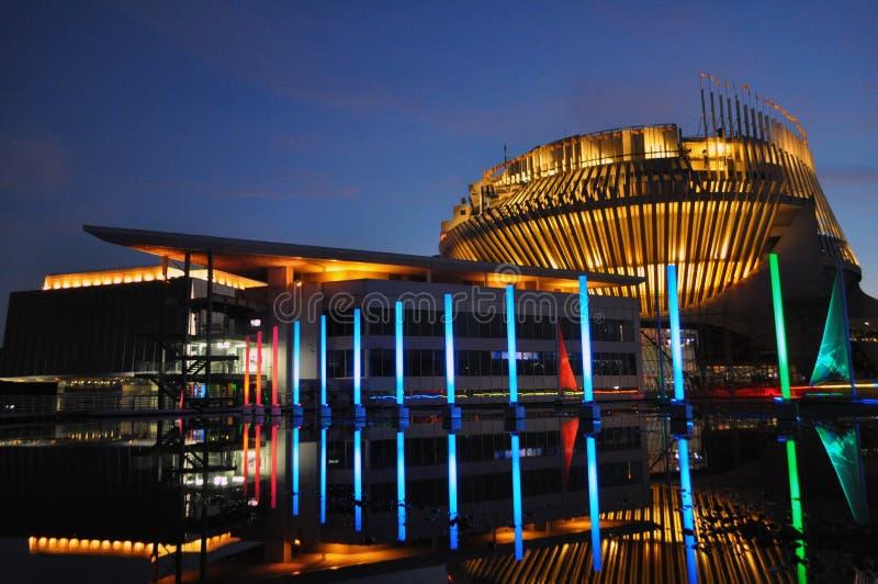 蒙特利尔赌博娱乐场 库存照片