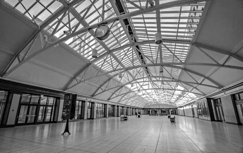 蒙特利尔-火车站 免版税库存图片