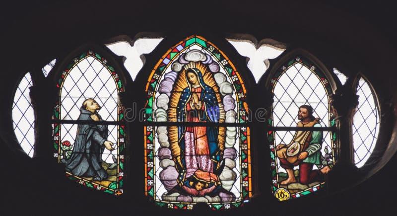 蒙特雷,新莱昂州/MEICO - 01 02 2017年:大教堂de瓜达卢佩河 免版税库存照片