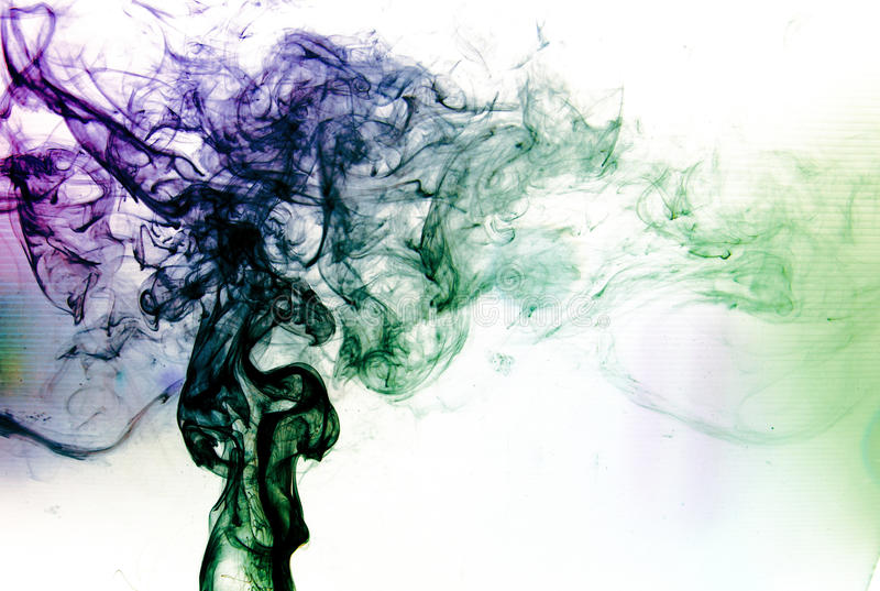 蒸气烟 免版税库存图片