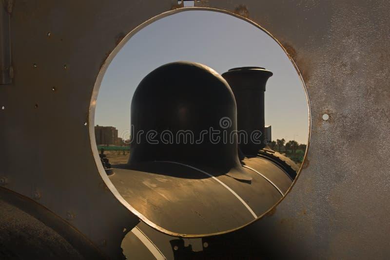 蒸汽培训 库存照片