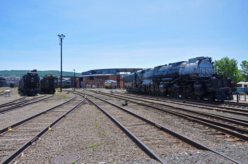 蒸汽机车联合太平洋4012,斯克兰顿,PA,美国 库存照片