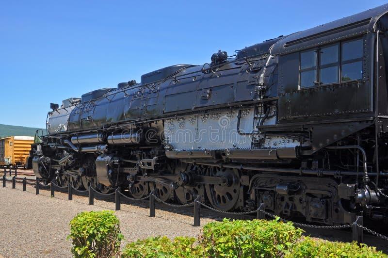 蒸汽机车联合太平洋4012,斯克兰顿,PA,美国 免版税库存图片