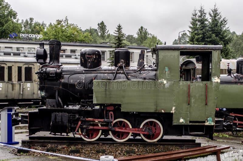 蒸汽机车,铁路 库存照片
