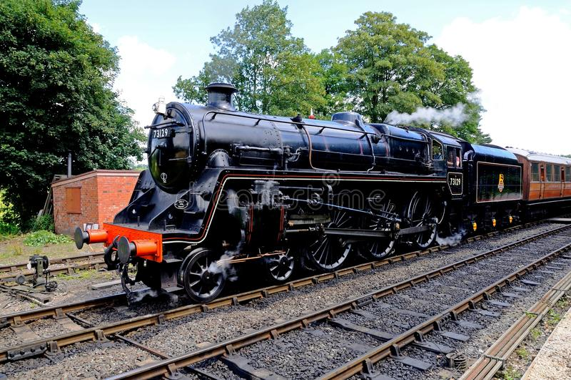 蒸汽机车, Arley 免版税图库摄影