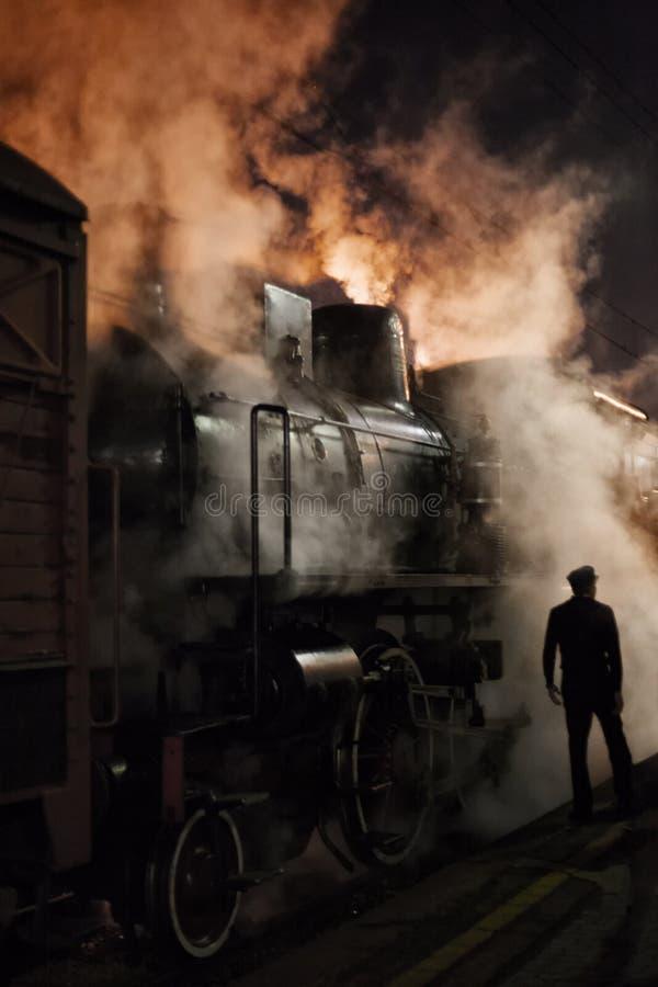 蒸汽机车 免版税图库摄影