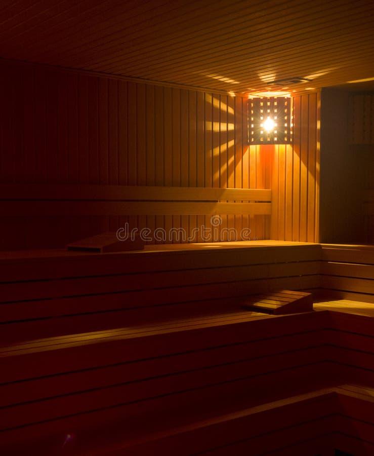 蒸汽浴室为放松 免版税库存照片