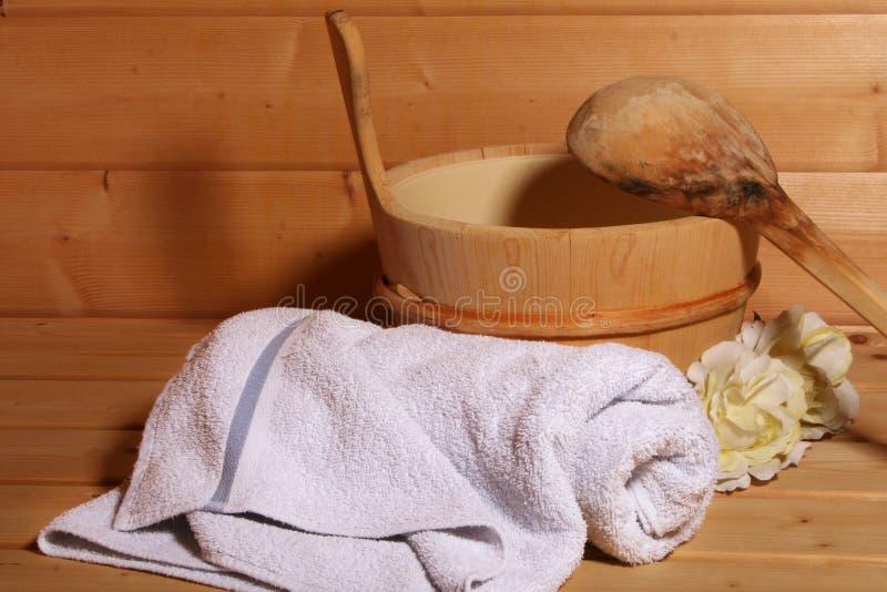 蒸汽浴 库存照片