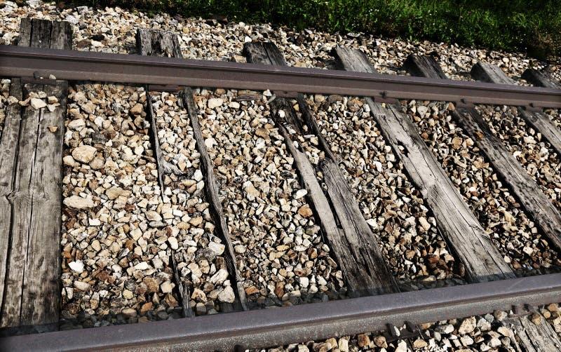 蒸汽火车通过与增殖比铁路的古老轨道 免版税图库摄影