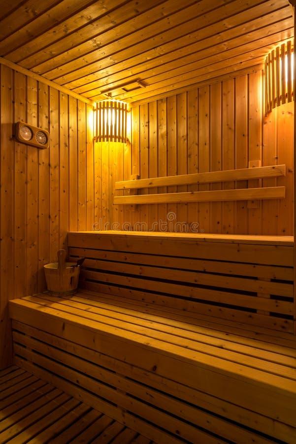 蒸汽浴室 库存图片