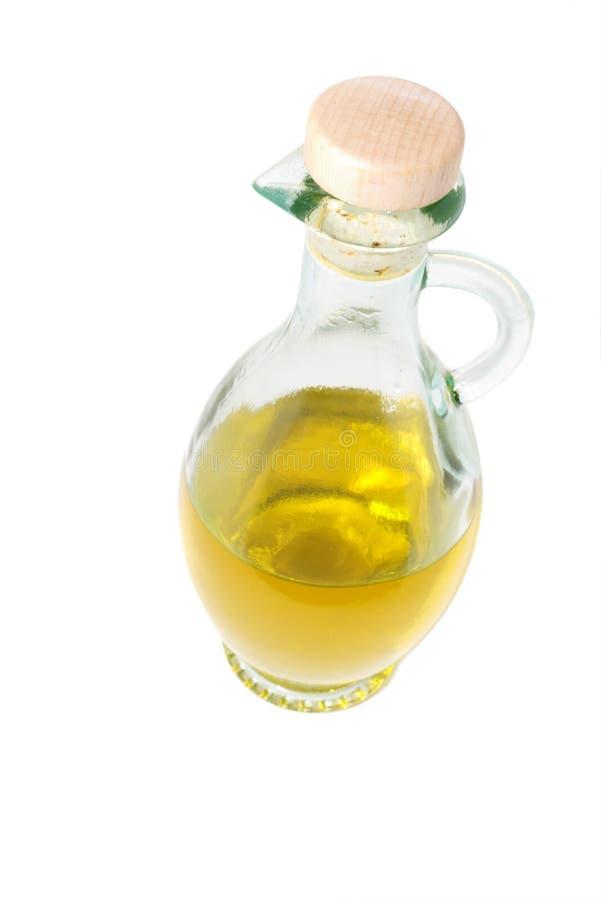 蒸馏瓶油橄榄 图库摄影