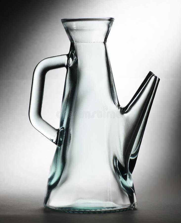 蒸馏瓶玻璃 免版税图库摄影