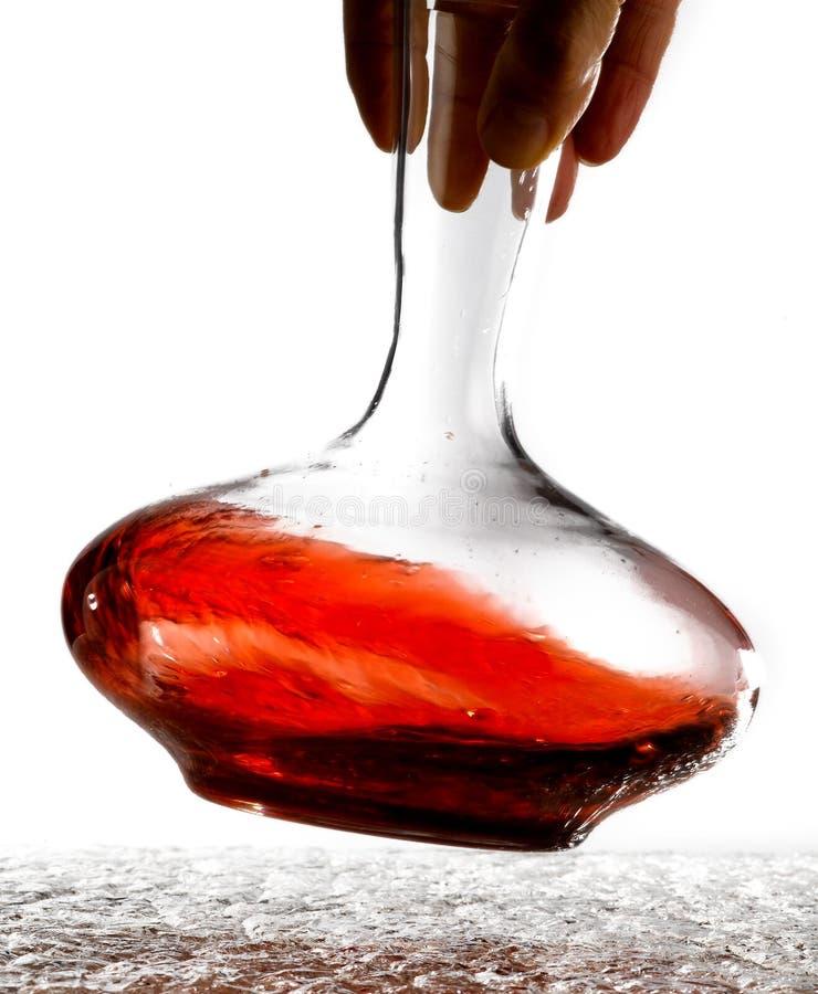 蒸馏瓶 库存图片