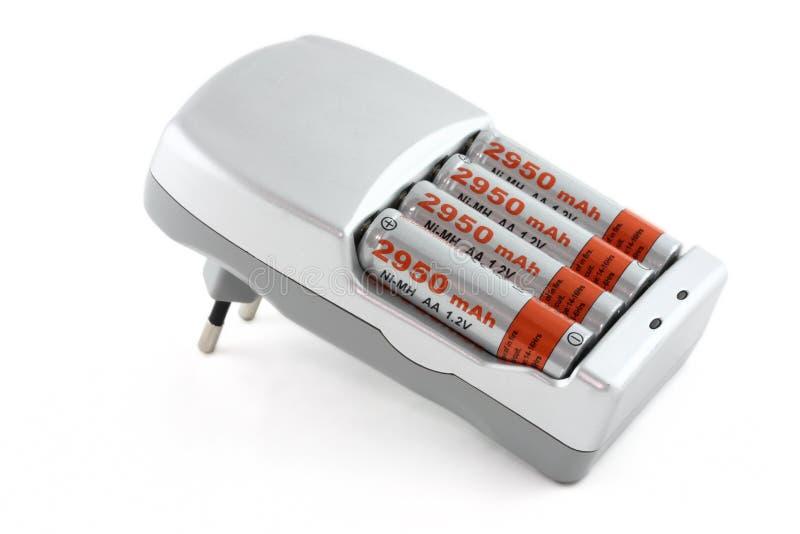 蓄电池充电器 免版税库存照片