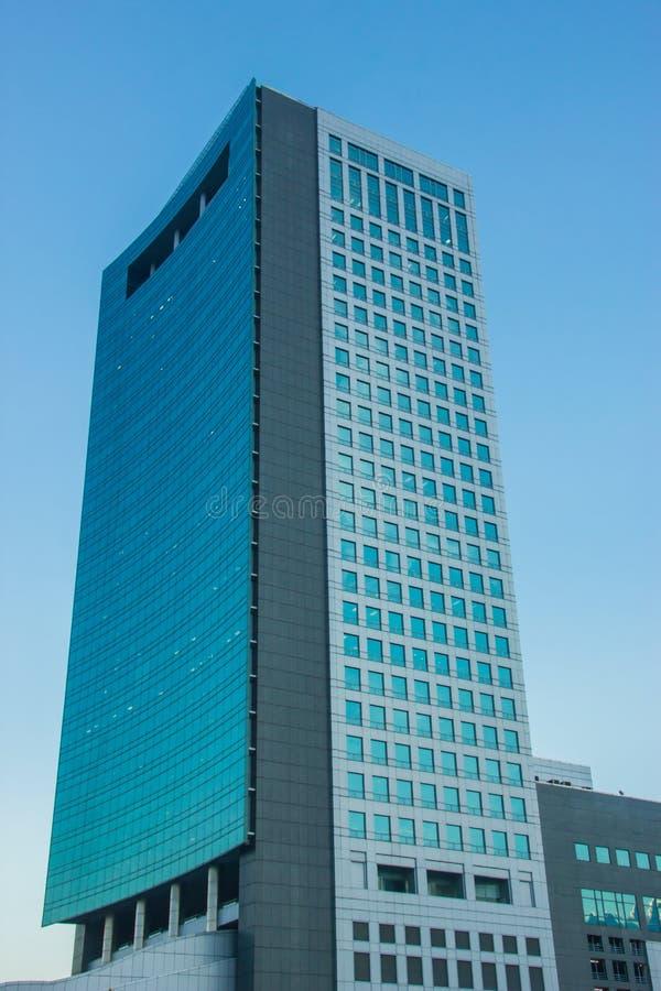蓝天办公室 免版税库存图片
