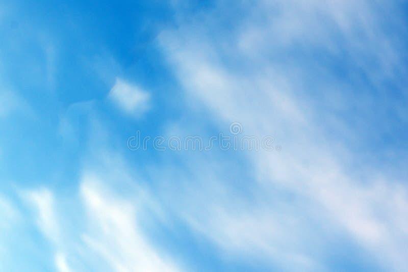 蓝天朦胧nimbi室外阴云密布, 库存照片