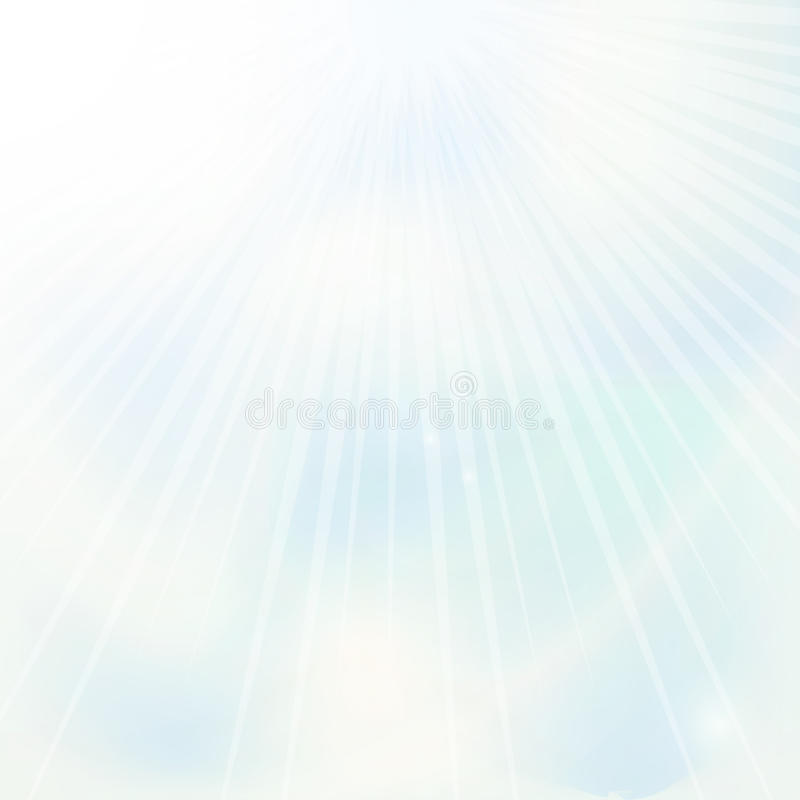 蓝天背景 库存例证