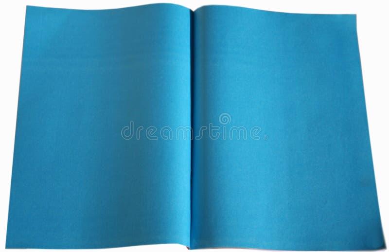 蓝纸 免版税库存照片
