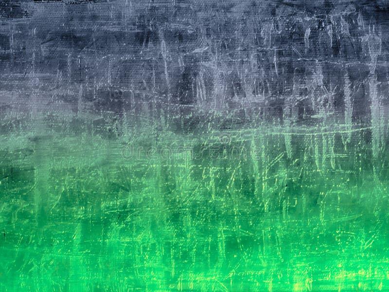 蓝绿色模式 向量例证
