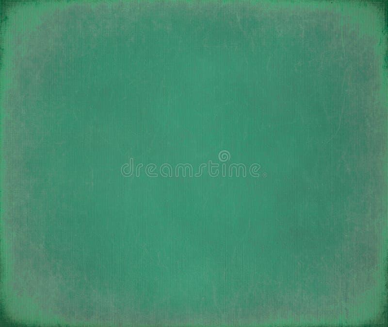 蓝绿色被取笑被抓的背景画布 免版税库存照片