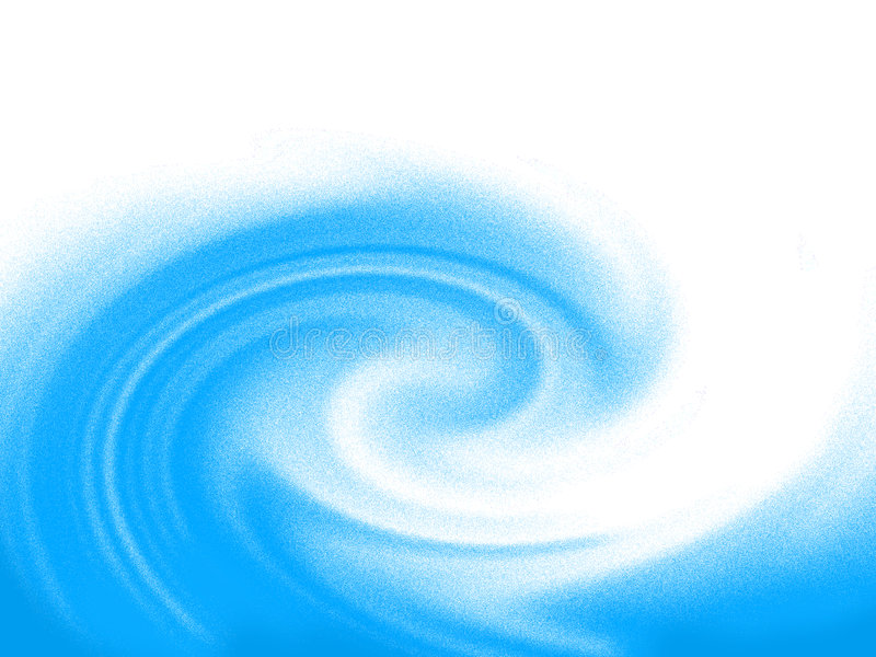 蓝绿色风暴wave2 皇族释放例证