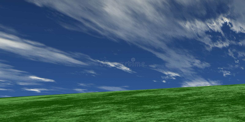 蓝绿色 图库摄影