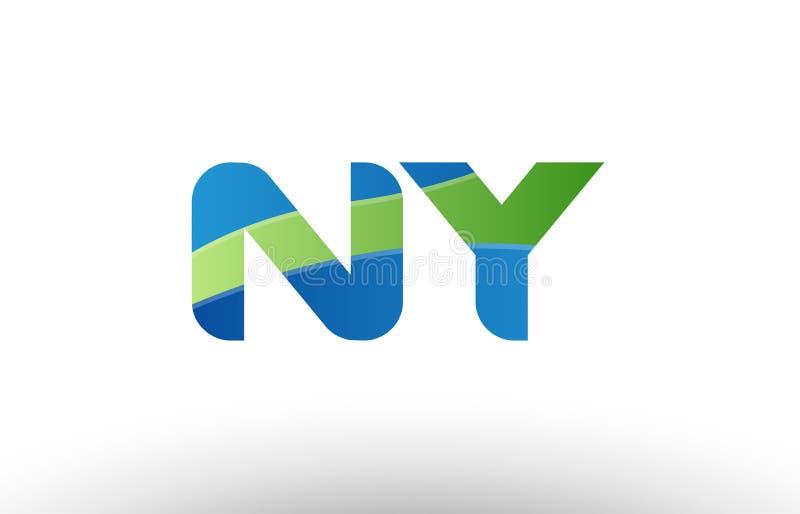 �9��yl#�+N��.Y��Y�_蓝绿色ny n y字母表信件商标组合象设计