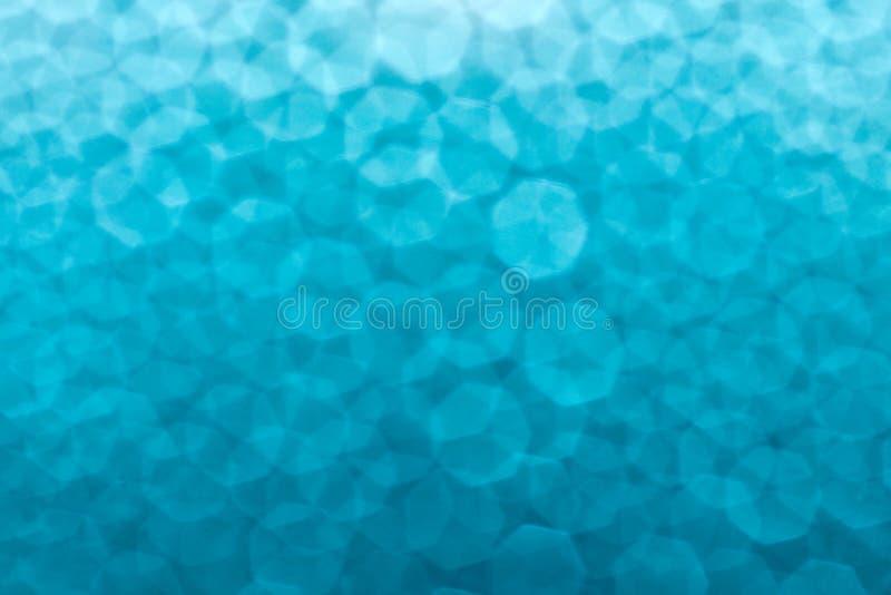 蓝色下落水 库存图片