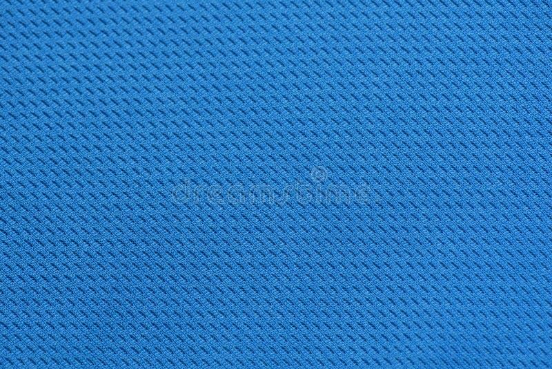 蓝色丝织物样式纹理背景 织布工纺织品 库存照片