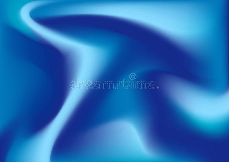 蓝色丝绸组织 向量例证