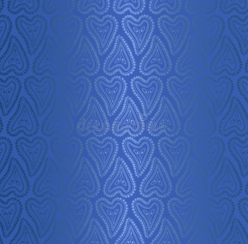 丝织物的无缝的样式 向量例证