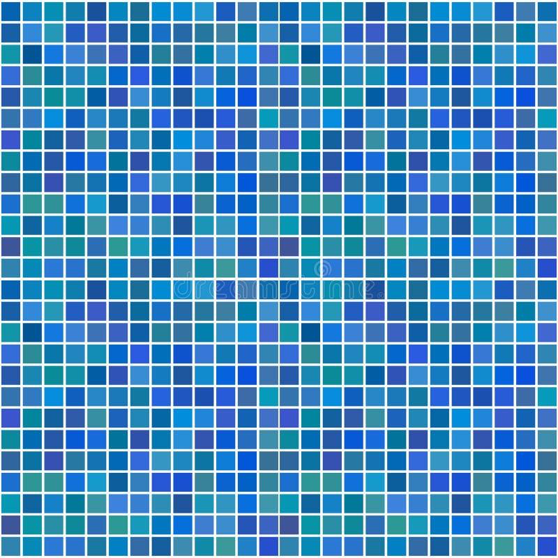 蓝色任意无缝的瓦片 皇族释放例证