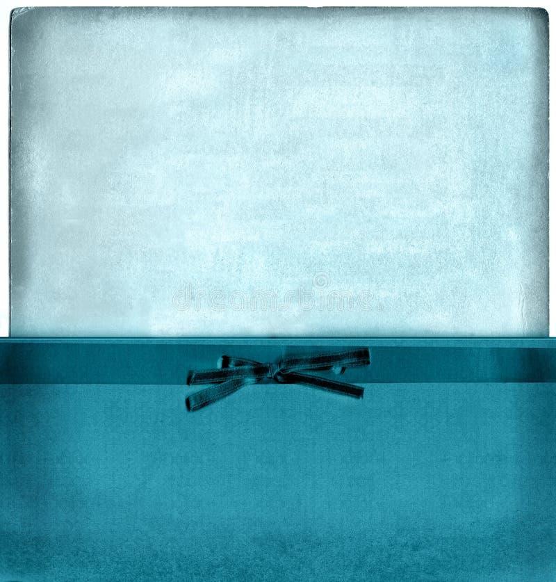 蓝色信包集合葡萄酒 免版税库存照片