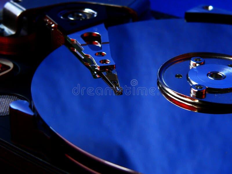 蓝色光盘 免版税库存图片