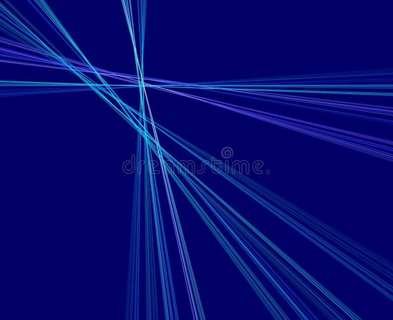 蓝色光芒 免版税库存照片