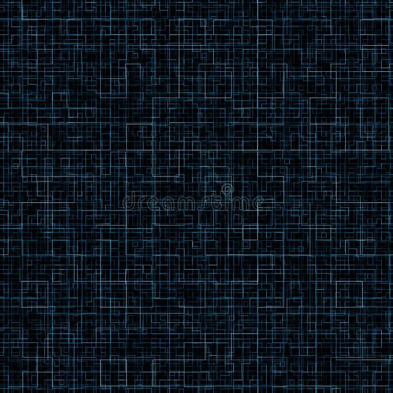 蓝色冷静线路 图库摄影