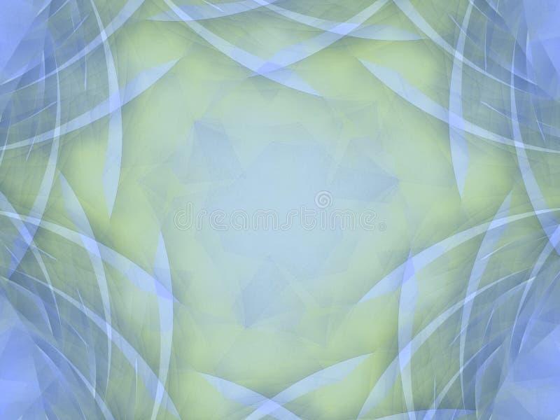 蓝色分格线软的照片 向量例证