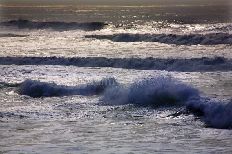 蓝色加利福尼亚弗朗西斯科海洋和平&# 库存图片