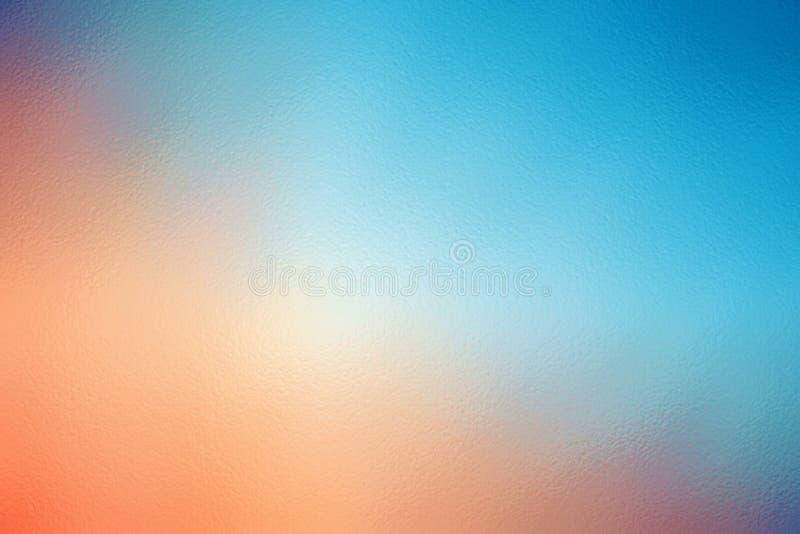 蓝色和橙色抽象纹理背景样式,设计模板 库存图片