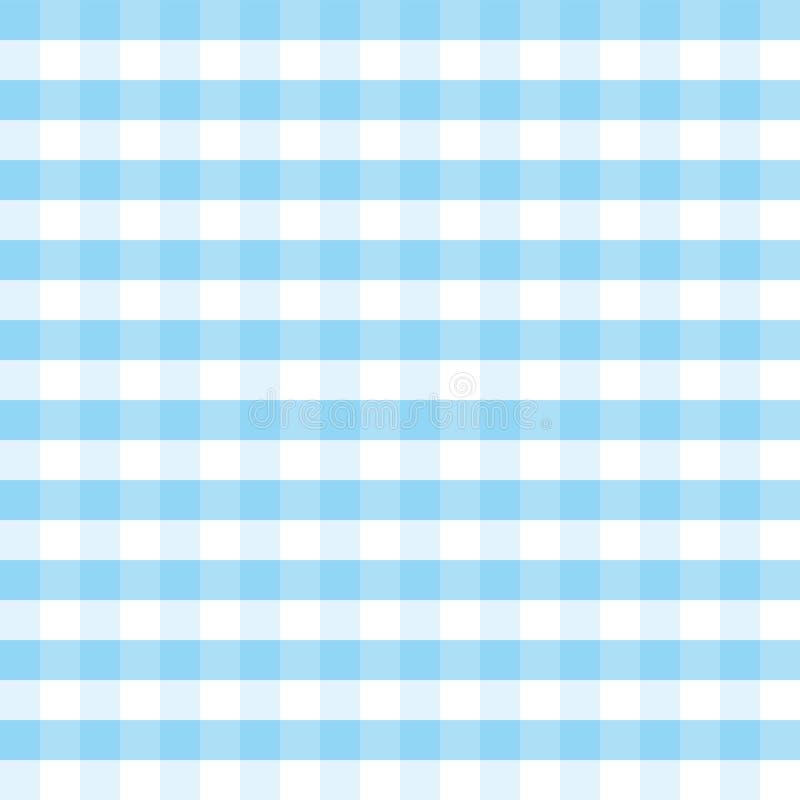 蓝色和白色格子花呢披肩传染媒介背景慕尼黑啤酒节 皇族释放例证