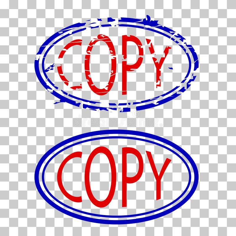 蓝色和红色不加考虑表赞同的人,在透明作用背景的拷贝 库存照片
