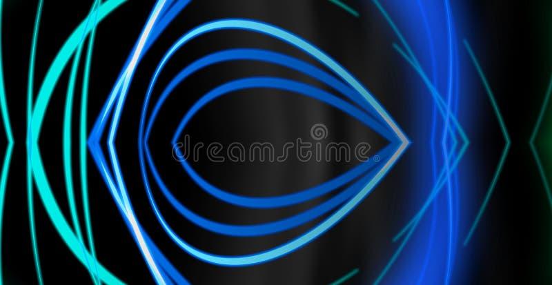 蓝色图表抽象背景 免版税图库摄影