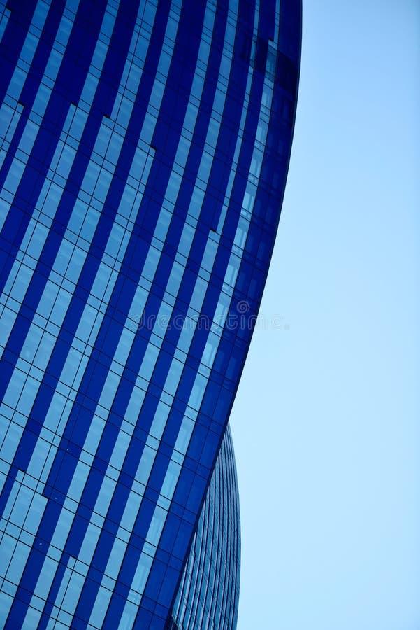 蓝色地平线 免版税库存图片